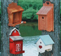 One-Sided Birdhouses Wood Plan