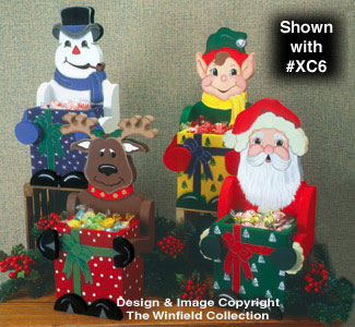 Christmas Candy Boxes Pattern #1