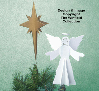 Tree Toppers Woodcraft Pattern