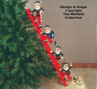 Christmas Elves  Woodcraft Pattern