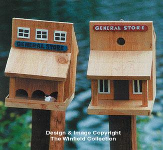 Old West Birdhouse/Feeder Patterns