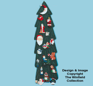 Christmas Tree Display Pattern