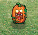 Halloween Yard Art - Krazy