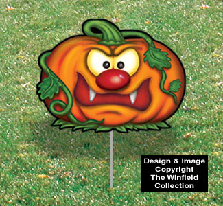 Halloween Yard Art - Fangs