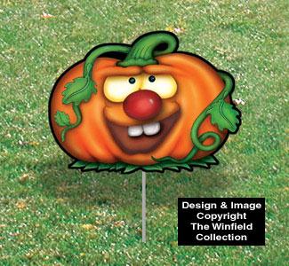 Halloween Yard Art - Bucky