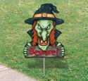 Scary Yard Art - Witch