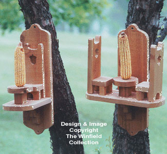 Squirrel Feeders Wood Patterns