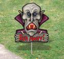 Scary Yard Art - Vampire