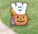 Halloween Yard Art - Surprise