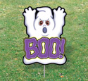 Halloween Yard Art - Boo