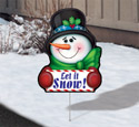 Cheerful Yard Art - Frosty