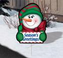 Holiday Yard Art - Greeter