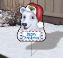 Holiday Yard Art - Beary
