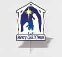 Holiday Yard Art - Nativity
