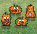 Goofy Pumpkins-Yard Art Set #2