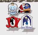 Christmas Joy-Yard Art Set #6