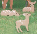 Three Fawns Woodcraft Pattern