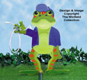 Frog Lawn Sprayer Wood Plan