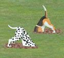 Diggin' Dogs Woodcraft Pattern