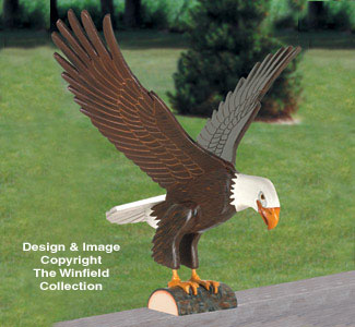 Majestic Eagle Wood Pattern