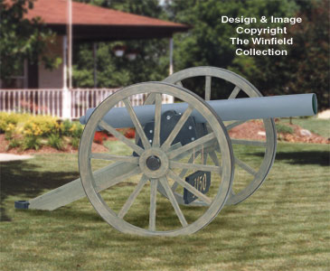 Civil War Cannon Woodworking Plan