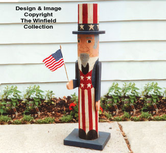 Pole Uncle Sam Woodcraft Pattern