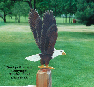 Yard Eagle Woodcrafting Pattern
