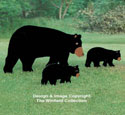 Mother Bear & Cub Woodcraft Plan