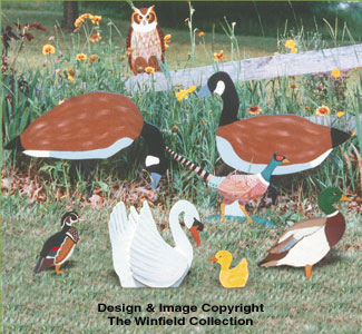 Wild Birds Yard Collection Patterns