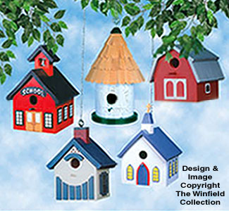 Birdhouse Pattern Collection