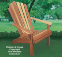 Adirondack Chair Wood Project Plan