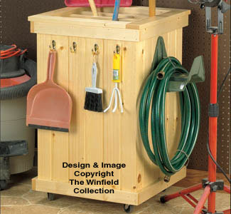 Garden Tool Caddy Wood Project Plan
