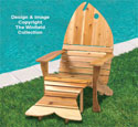 Adirondack Fish Chair-Ottoman Plans