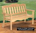 Ultimate Garden Bench Wood Plans