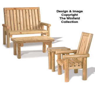 Rustic Furniture Pattern Set