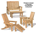 Landscape Timber Furniture Plan Set