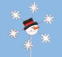 Snowman Whirligig Woodcrafting Pattern