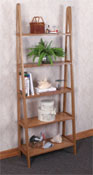 Ladder Shelf Woodworking Plan