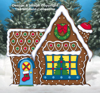 Giant Gingerbread House Woodcraft Pattern
