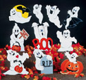 10 Scary Ghosts  Woodcraft Pattern