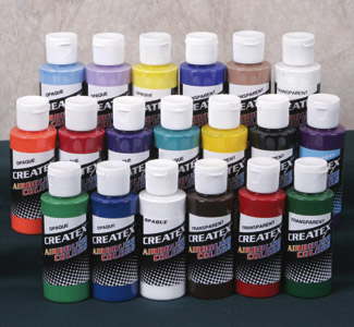 Airbrush Complete Paint Set