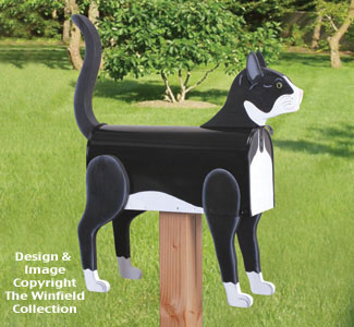 Cat Mailbox Wood Project Pattern