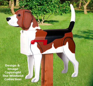 Beagle Mailbox Wood Project Pattern