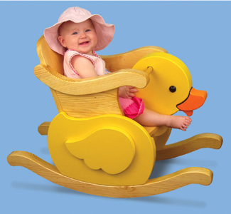 Little Ducky Rocker Wood Project Plan
