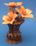 Miniature Southern Charms & Vase Scroll Saw Pattern