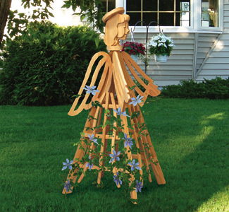 Angel Trellis Wood Project Plan