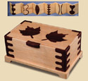 Inlaid Maple Leaf Jewelry Box Plans