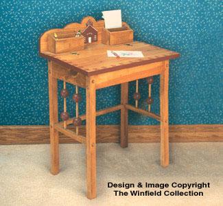 Childrens Furniture Kids Furniture Desk Woodworking Plan