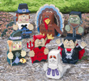 Fall Holiday Patio Paver Pals Pattern