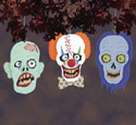 Bug-Eyed Ghoul Heads Woodcrafting Pattern